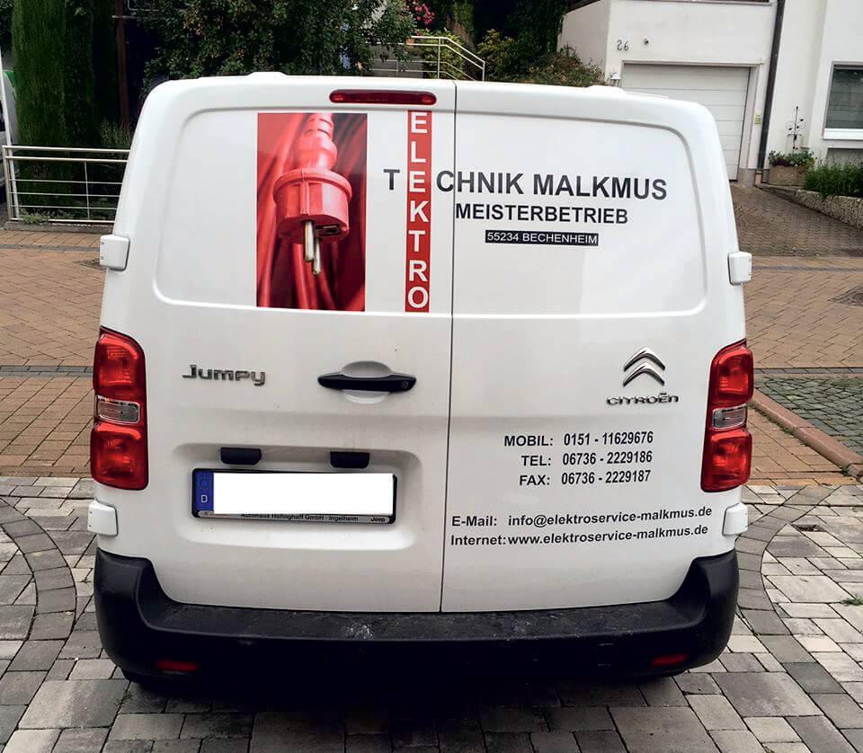 Fahrzeugaufkleber für Kirchheimbolanden und Alzey