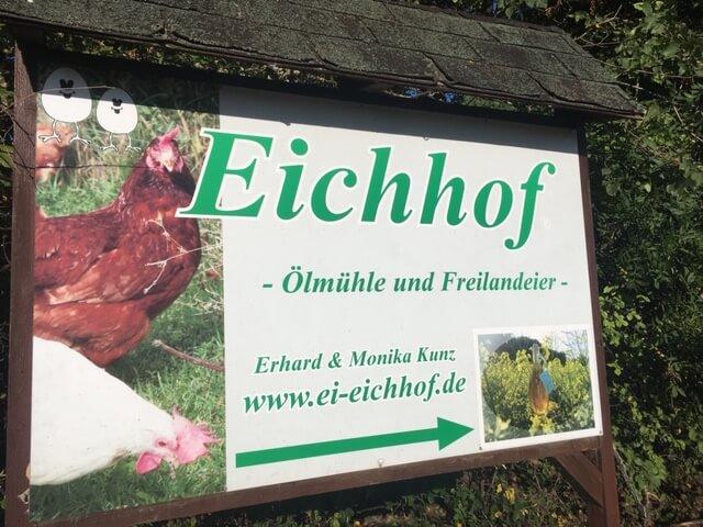 Schilder für Alzey und Kirchheimbolanden
