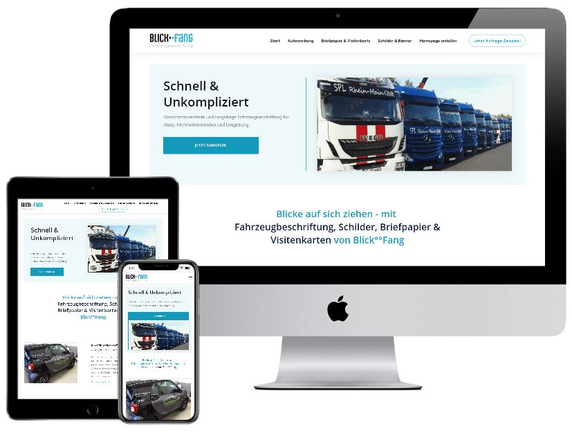 Internetseite erstelle lassen Alzey oder Kirchheimbolanden
